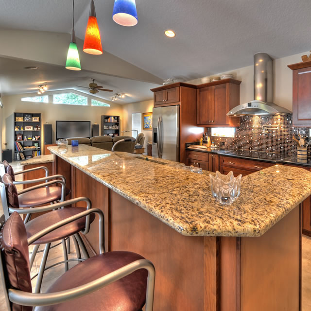 Beau ... Custom Home Renovations · Eclectic Kitchen ...