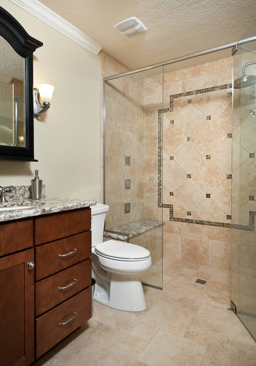 Bathroom remodeling orlando orange county art harding for Bathroom renovation images